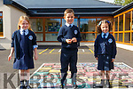 St Oliver's NS, Ballylongford: M/s DanielleO'Riordan's Junior class at St Oloiver's NS, Ballylongford. L-R: Emilly O'Connell, Thomas Lynch & Mai O'Rose O'Connor.