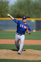 Texas Rangers pitcher Adam Dian (88) during an instructional league game against the Los Angeles Angels / Chicago Cubs co-op team on October 5, 2015 at the Surprise Stadium Training Complex in Surprise, Arizona.  (Mike Janes/Four Seam Images)