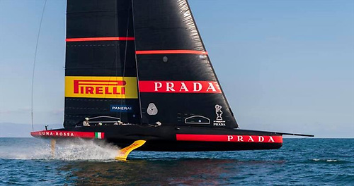 The discipline of the Roman Empire sails again – the Luna Rossa challenger Prada Pirelli