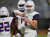 Manatee Hurricanes vs Lakewood Ranch Mustngs Varsity Football on October 2, 2020 in Bradenton, Florida.  (Mike Janes Photography)