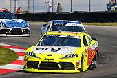 #19: Brandon Jones, Joe Gibbs Racing, Toyota Supra Menards/NRG