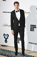 Toby Huntington Whiteley<br /> at the One For The Boys Fashion Ball 2017, Landmark Hotel, London. <br /> <br /> <br /> ©Ash Knotek  D3277  09/06/2017