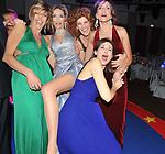 LAURA MORINO  TESO CON LE AMICHE<br /> CIRCUS GALA - FESTA DI COMPLEANNO DI LAURA MORINO  TESO ALL'ATA HOTEL MILANO 2010