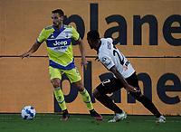 22nd September 2021; Picco Stadium, La Spezia, Italy; Serie A football, Spezia FC versus Juventus  FC: Adrien Rabiot of Juventus