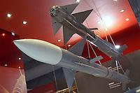- stand Israeli Aeronautical Industry, aerial and antiaircraft missiles....- stand industria Aeronautica israeliana, missili aerei e antiaerei