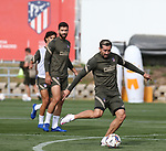 Atletico de Madrid's Hector Herrera during training session. September 17,2020.(ALTERPHOTOS/Atletico de Madrid/Pool)