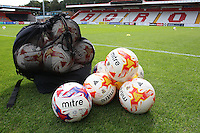 General view of the training balls during Stevenage vs Exeter City, Sky Bet EFL League 2 Football at the Lamex Stadium on 24th September 2016