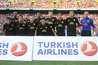 FC Barcelona team photo. Manchester United defeated Barcelona FC 2-1 at FedEx Field in Landover, MD Saturday July 30, 2011.