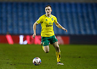 2nd February 2021; The Den, Bermondsey, London, England; English Championship Football, Millwall Football Club versus Norwich City; Oliver Skipp of Norwich City