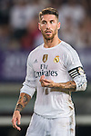 Sergio Ramos of Real Madrid CF reacts during the FC Internazionale Milano vs Real Madrid  as part of the International Champions Cup 2015 at the Tianhe Sports Centre on 27 July 2015 in Guangzhou, China. Photo by Aitor Alcalde / Power Sport Images