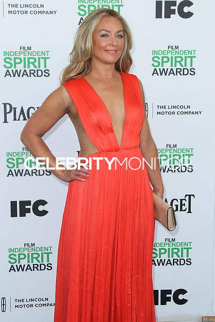 SANTA MONICA, CA, USA - MARCH 01: Elisabeth Rohm at the 2014 Film Independent Spirit Awards held at Santa Monica Beach on March 1, 2014 in Santa Monica, California, United States. (Photo by Xavier Collin/Celebrity Monitor)