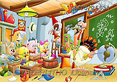 Alfredo, CUTE ANIMALS, puzzle, paintings(BRTO26634,#AC#) illustrations, pinturas, rompe cabeza