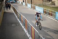Oliver Naesen (BEL/AG2R-La Mondiale)<br /> <br /> Stage 5 (ITT): Barbentane to Barbentane (25km)<br /> 77th Paris - Nice 2019 (2.UWT)<br /> <br /> ©kramon