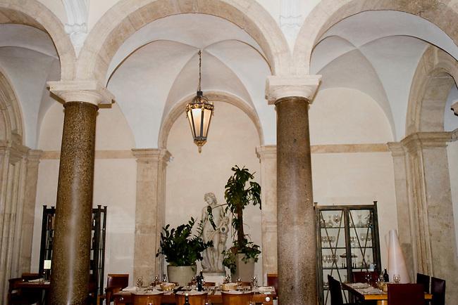 Interior, Pan Casa Bleve Restaurant, Rome, Italy