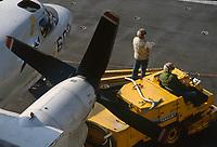 portaerei Kennedy US Navy in Mediterraneo
