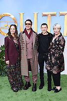 "Susand and Robert Downey Jr. Tom Holand and Emma Thompson<br /> arriving for the ""Dolittle"" premiere at the Empire Leicester Square, London.<br /> <br /> ©Ash Knotek  D3549 25/01/2020"