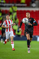 1st October 2021;  Bet365 Stadium, Stoke, Staffordshire, England; EFL Championship football, Stoke City versus West Bromwich Albion; Jake Livermore of West Bromwich Albion chases a lose ball