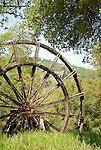 Historic Kennedy Gold Mine Tailing Wheel, spring, Jackson, Calif.