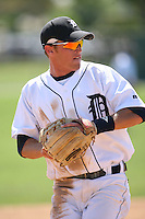 March 21st 2008:  Shawn Roof of the Detroit Tigers minor league system during Spring Training at Tiger Town in Lakeland, FL.  Photo by:  Mike Janes/Four Seam Images