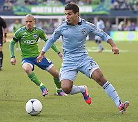 Seattle Sounders FC vs. Sporting KC, June 20, 2012
