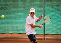 Netherlands, Amstelveen, August 21, 2015, Tennis,  National Veteran Championships, NVK, TV de Kegel,  Wim Heeremans<br /> Photo: Tennisimages/Henk Koster