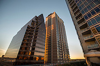 Austin's unique architecture of downtown skyscrapers and 19th century buildings make up its modern skyline as the Austin Building Boom Helps Fuel Growth, Austin leads U.S. in No. 1 growing cities.