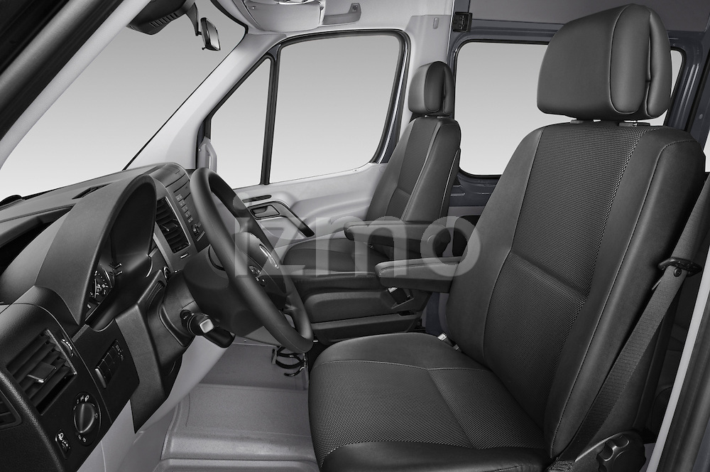 Front seat view of a 2014 Mercedes Benz Sprinter 316CDi MWB 4 Door Combi 2WD Front Seat car photos