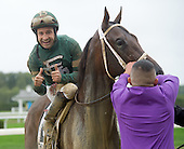 Jockey Club Gold Cup Day at Belmont Park - 10/03/2015