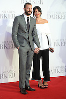 """Jamie Dornan and Amelia Warner<br /> at the """"Fifty Shades Darker"""" premiere, Odeon Leicester Square, London.<br /> <br /> <br /> ©Ash Knotek  D3223  09/02/2017"""
