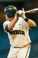 Max Muncy #9 of the Baylor Bears at bat against the Utah Utes at Minute Maid Park on March 5, 2011 in Houston, Texas.  Photo by Brian Westerholt / Four Seam Images