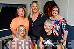 Enjoying the evening in the Brogue Inn on Friday.<br /> Seated: Annette Barry and Michelle O'Sullivan <br /> Standing l to r: Helen Slattery, Anna Marie Lynch and Emma McElligott.