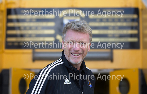 St Johnstone v Real Sociadad...12.07.15  Bayview, Methil (Home of East Fife FC)<br /> Real Sociadad manager David Moyes<br /> Picture by Graeme Hart.<br /> Copyright Perthshire Picture Agency<br /> Tel: 01738 623350  Mobile: 07990 594431