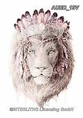 Carlie, REALISTIC ANIMALS, REALISTISCHE TIERE, ANIMALES REALISTICOS, paintings+++++,AUED19V,#A#, EVERYDAY,lion,spirit ,fantasy