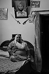 Baby Singh is a widow and a rape victim of Sikh Genocide of 1984 presently residing at the widow colony in Tilak Vihar. Tilak Vihar in New Delhi is called the widow colony. Widows and children of the Sikhs who were killed in 1984 Sikh Genocide live here. Four thousand Sikhs were killed in 72 hours in Delhi alone but no body till date has been punished for such an inhuman crime. Illiteracy, drug addiction, child labour and immense poverty characterize the area. Twenty five years ago all the male family members above the age of 15 were killed and burnt, leaving their uneducated widows and children behind to suffer, even after 25 years. The present generation is jobless, steeped in alcoholism and have lost their directions in life. November 2009. New Delhi, India, Arindam Mukherjee