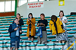Dr Crokes supporters celebrate after winning the Kerry County Intermediate Hurling Championship Final match between Dr Crokes and Tralee Parnell's at Austin Stack Park in Tralee