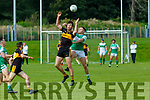 Rob Leen Legion David Shaw Dr Crokes during their O'Donoghue cup clash in Killarney on Sunday