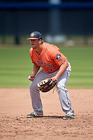 Houston Astros Colton Shaver (53) during a Minor League Spring Training Intrasquad game on March 28, 2018 at FITTEAM Ballpark of the Palm Beaches in West Palm Beach, Florida.  (Mike Janes/Four Seam Images)