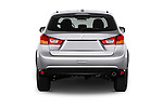Straight rear view of 2017 Mitsubishi Outlander-Sport ES-AWC 5 Door SUV Rear View  stock images