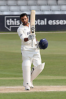Ravi Bopara celebrates a vital century, 100 runs, for Essex - Essex CCC vs Glamorgan CCC - LV County Championship Division Two Cricket at the Ford County Ground, Chelmsford - 29/04/11 - MANDATORY CREDIT: Gavin Ellis/TGSPHOTO - Self billing applies where appropriate - Tel: 0845 094 6026