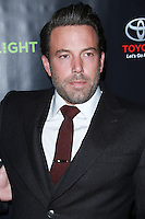 HOLLYWOOD, LOS ANGELES, CA, USA - NOVEMBER 07: Ben Affleck arrives at HBO's 'Project Greenlight' Season 4 Winner Announcement held at Boulevard3 on November 7, 2014 in Hollywood, Los Angeles, California, United States. (Photo by David Acosta/Celebrity Monitor)