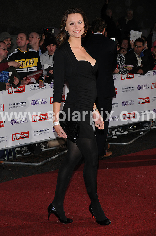 **ALL ROUND PICTURES FROM SOLARPIX.COM**.**WORLDWIDE SYNDICATION RIGHTS**.Arrivals for the Pride Of Britain Awards, held at Southbank Studios, London, UK. 30th September 2008..This pic: Beverly Turner..JOB REF: 7500 SSD     DATE: 30_09_2008.**MUST CREDIT SOLARPIX.COM OR DOUBLE FEE WILL BE CHARGED* *UNDER NO CIRCUMSTANCES IS THIS IMAGE TO BE REPRODUCED FOR ANY ONLINE EDITION WITHOUT PRIOR PERMISSION*