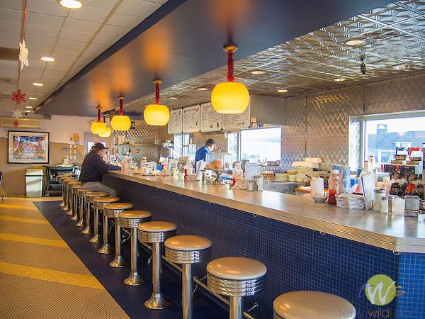 Skooter's Diner. Interior.