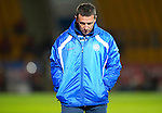 St Johnstone v Inverness Caledonian Thistle.....25.04.11.Derek McInnes kicks the ground in frustration.Picture by Graeme Hart..Copyright Perthshire Picture Agency.Tel: 01738 623350  Mobile: 07990 594431