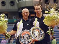 26-2-06, Netherlands, tennis, Rotterdam, Doubbles, the winners Hanley and Ullyett(l)