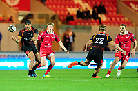 Berton Klassen of Southern Kings in action during the Guinness Pro14 Round 5 match between Scarlets and Isuzu Southern Kings at the Parc Y Scarlets in Llanelli, Wales, UK. Saturday 29 September 2018