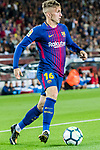 Gerard Deulofeu Lazaro of FC Barcelona in action during the La Liga match between FC Barcelona vs RCD Espanyol at the Camp Nou on 09 September 2017 in Barcelona, Spain. Photo by Vicens Gimenez / Power Sport Images