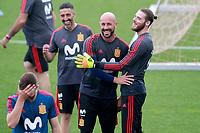 Spain's Pepe Reina (l) and David De Gea during training session. May 29,2018.(ALTERPHOTOS/Acero) /NortePhoto.com