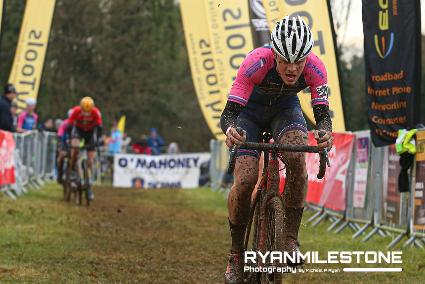 EVENT:<br /> Round 5 of the 2019 Munster CX League<br /> Drombane Cross<br /> Sunday 1st December 2019,<br /> Drombane, Co Tipperary<br /> <br /> CAPTION:<br /> Dillon Corkery of Verge Sport PI Cycles in action during the A Race - Senior<br /> <br /> Photo By: Michael P Ryan