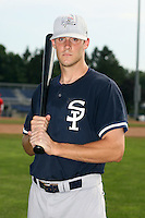 July 9th 2007:  Isaiah Howes of the Staten Island Yankees, Class-A affiliate of the New York Yankees, at Dwyer Stadium in Batavia, NY.  Photo by:  Mike Janes/Four Seam Images