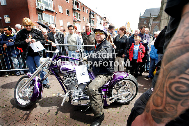 Arnhem, 280506<br />Harley Davidson dag in Arnhem. <br />Foto: Sjef Prins- APA Foto
